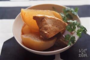 ぶりキムチ大根(ぶり+大根を使ったレシピ)