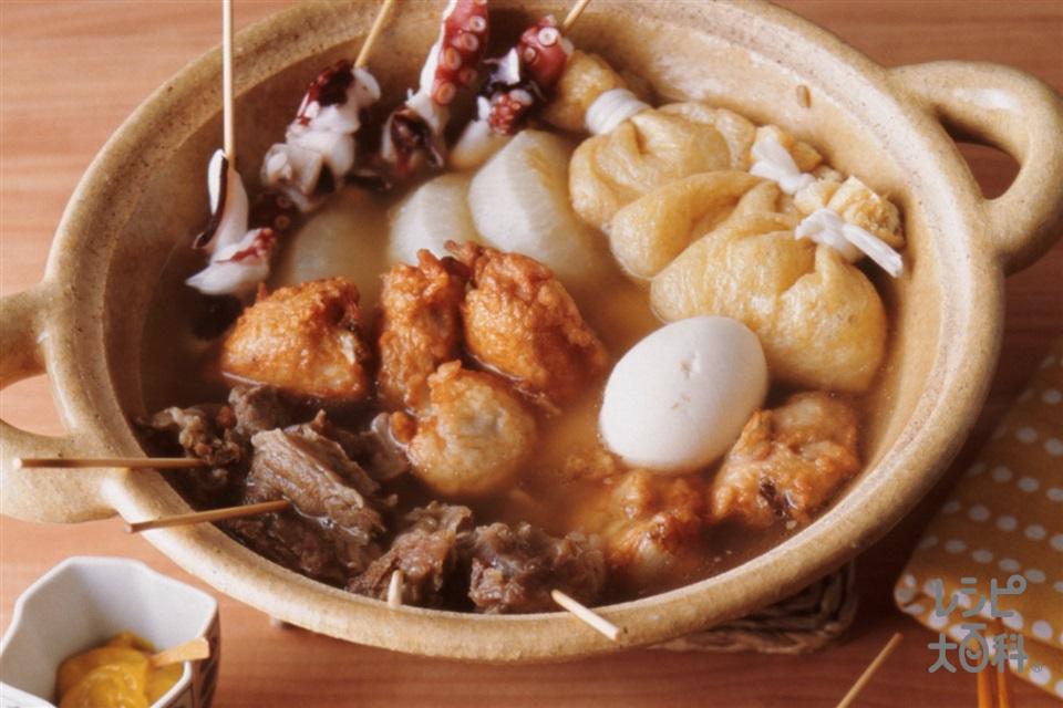 特製おでん(牛スジ肉+大根を使ったレシピ)