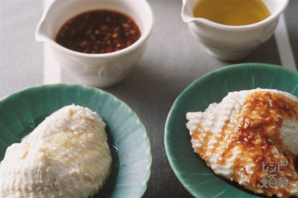 ザル豆腐(大豆(乾)+レモン汁を使ったレシピ)