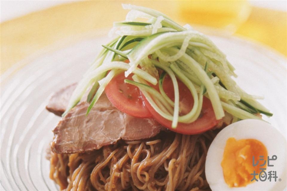 韓国風冷めん(冷めん+トマトを使ったレシピ)