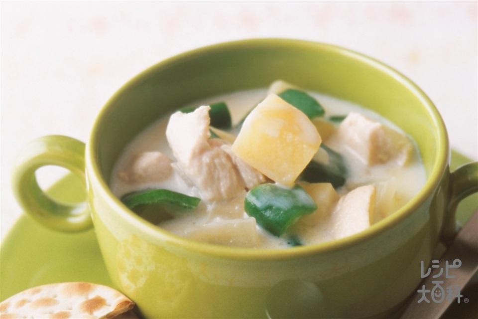 チキンチャウダー(鶏むね肉+牛乳を使ったレシピ)