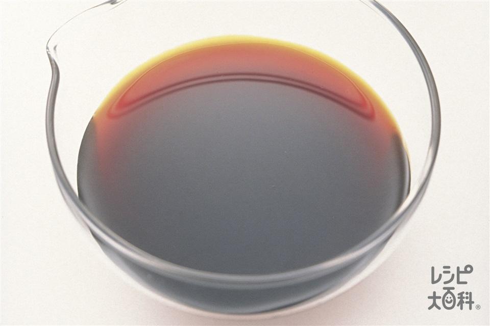 ノンオイルしょうゆドレッシング(レモン汁を使ったレシピ)