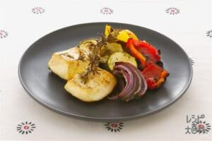 豆腐と野菜の香草グリル