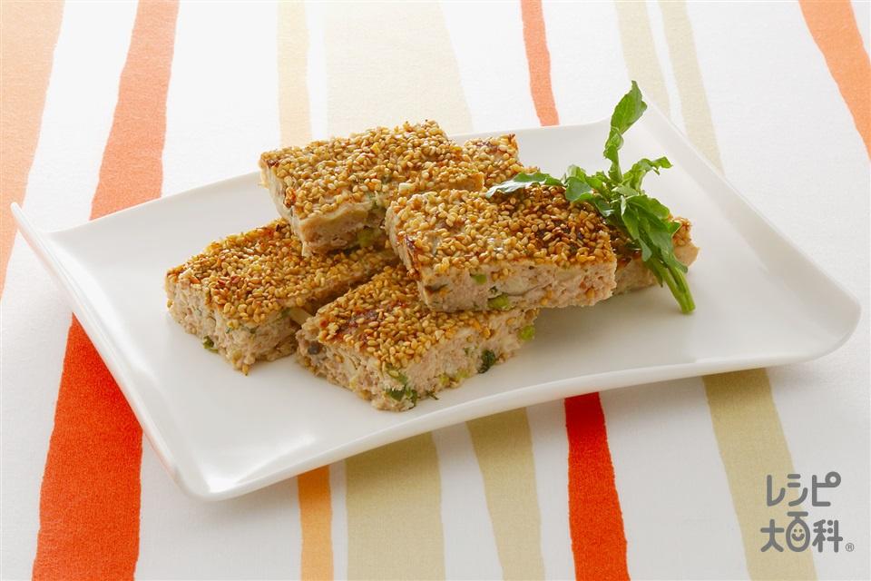 和風ミートローフ(豚ひき肉+A卵を使ったレシピ)