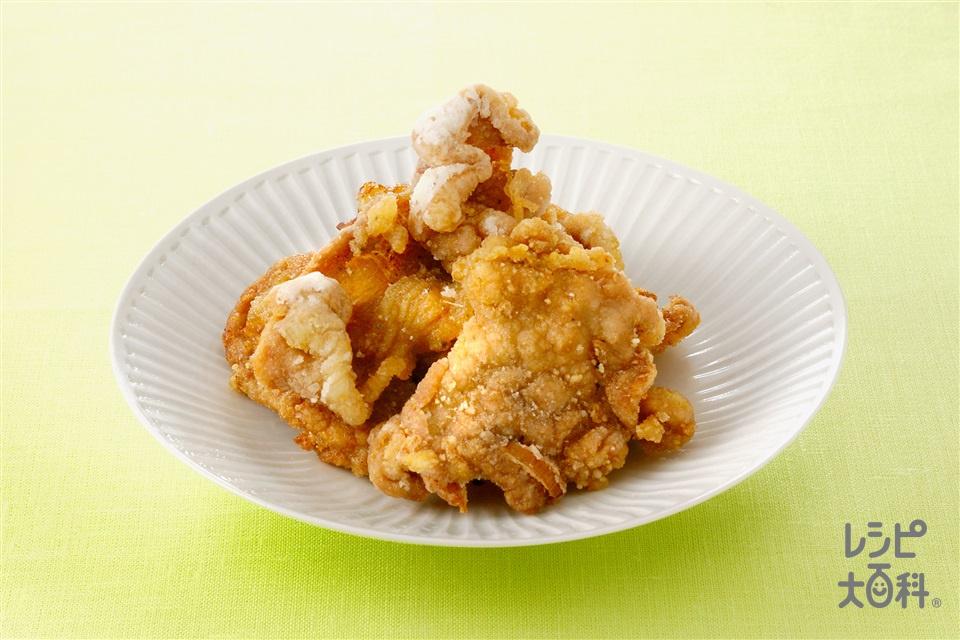 豚肉の香り竜田揚げ(豚ロース薄切り肉+片栗粉を使ったレシピ)