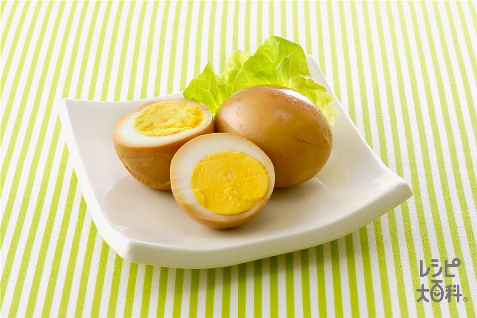 しょうゆ卵(卵+砂糖を使ったレシピ)