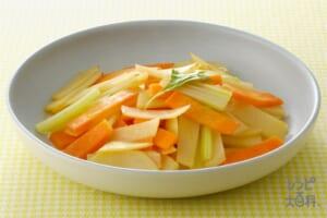 3色野菜のコンソメ炒め