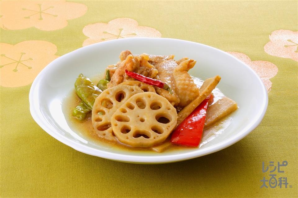 鶏肉の南蛮漬け(鶏もも肉+れんこんを使ったレシピ)