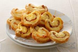 パルミエ(溶き卵+粉チーズを使ったレシピ)