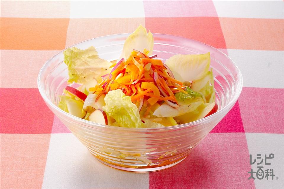 りんごと白菜のアジアンサラダ (白菜+りんごを使ったレシピ)