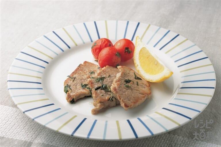豚ヒレ肉のハーブソテー