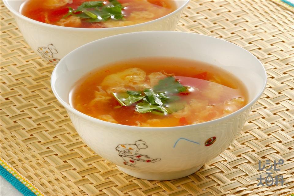 卵とトマトのスワンラータン(トマト+卵を使ったレシピ)