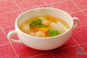 冬野菜のおかずスープ