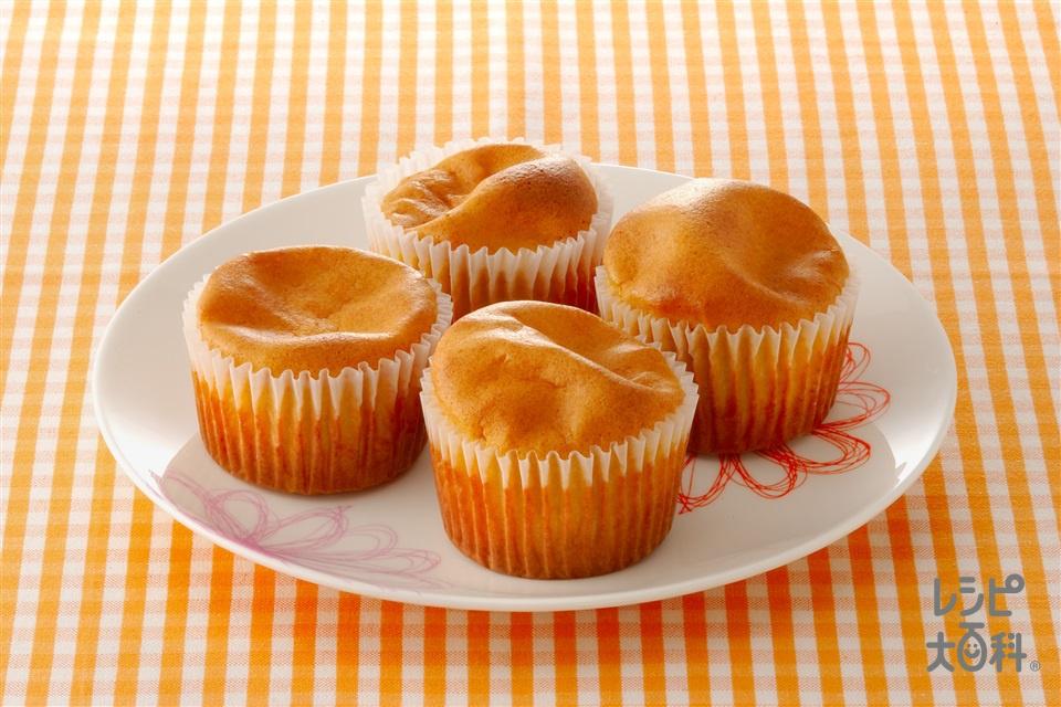 きな粉のフワフワケーキ(小麦粉+卵を使ったレシピ)