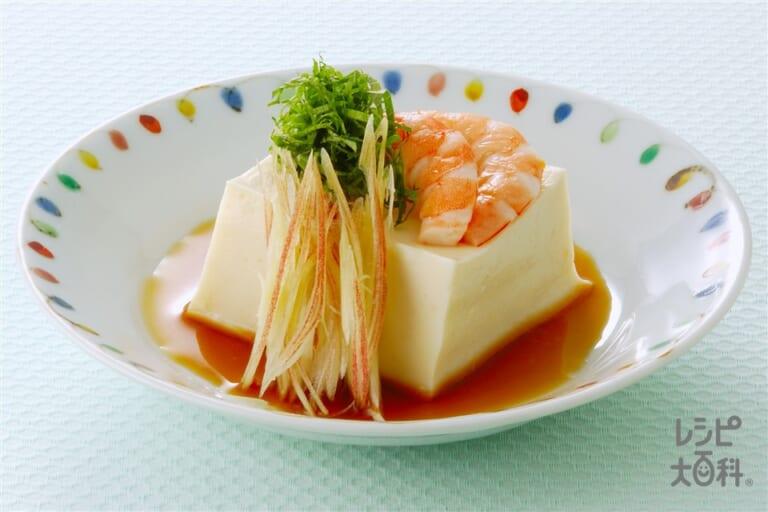 豆乳のごま豆腐風