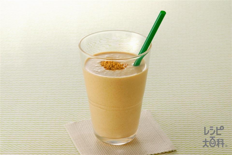 きな粉ヨーグルトドリンク(牛乳+プレーンヨーグルトを使ったレシピ)