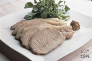豚肉のハーブ塩包み焼き