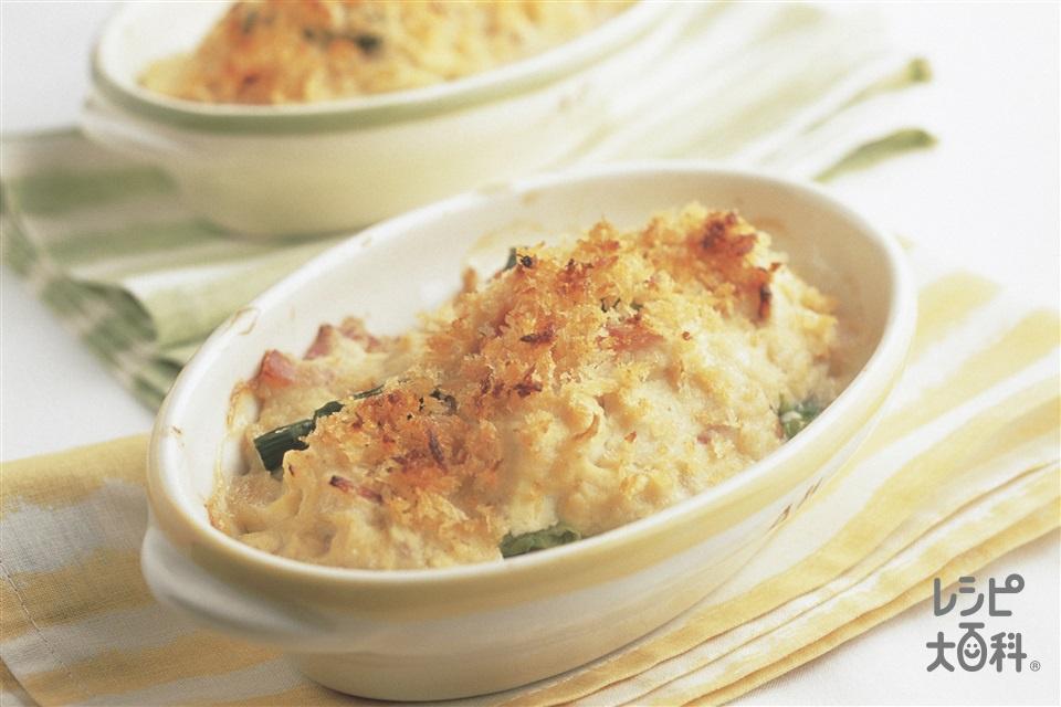豆腐と野菜の豆乳グラタン