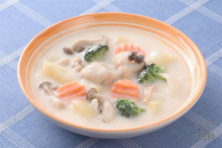 鶏としめじのスープシチュー