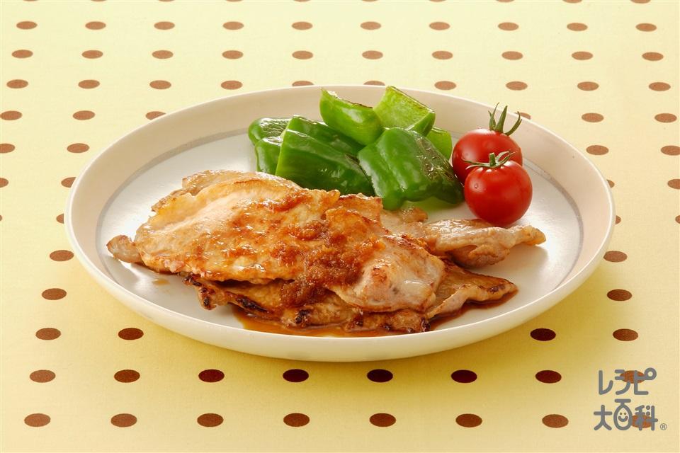 豚肉のしょうが焼き(豚肉+Aしょうゆを使ったレシピ)