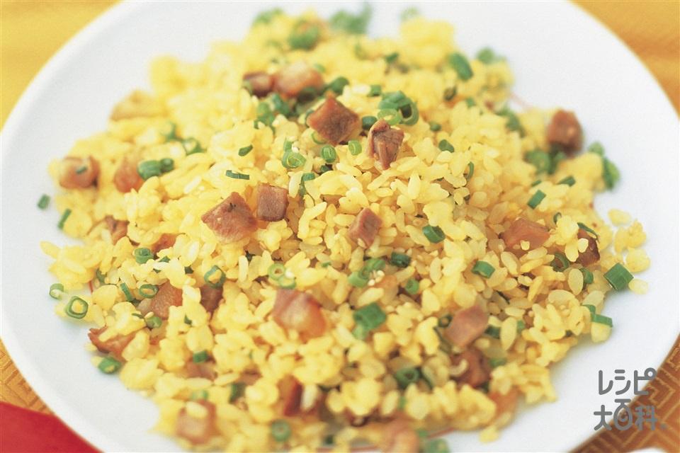 黄金チャーハン(卵+ご飯を使ったレシピ)