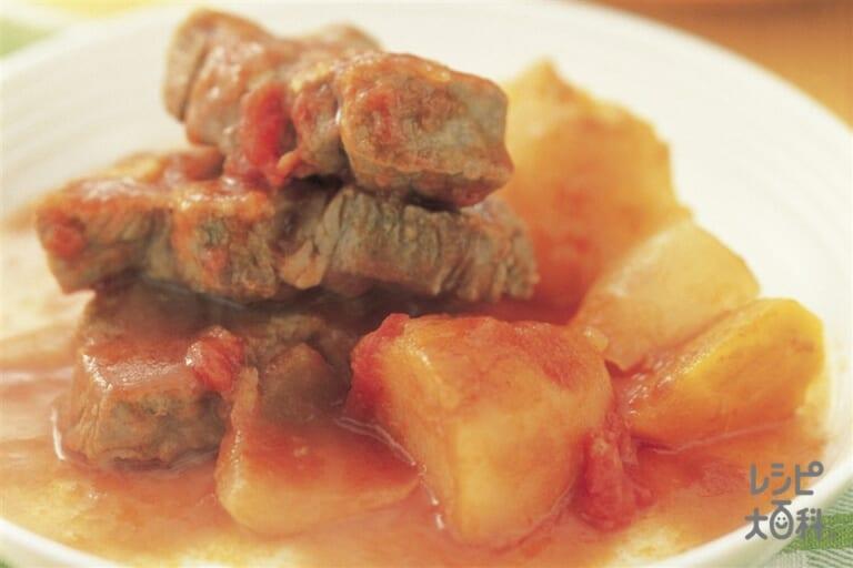 ポーク&野菜のトマト煮込み