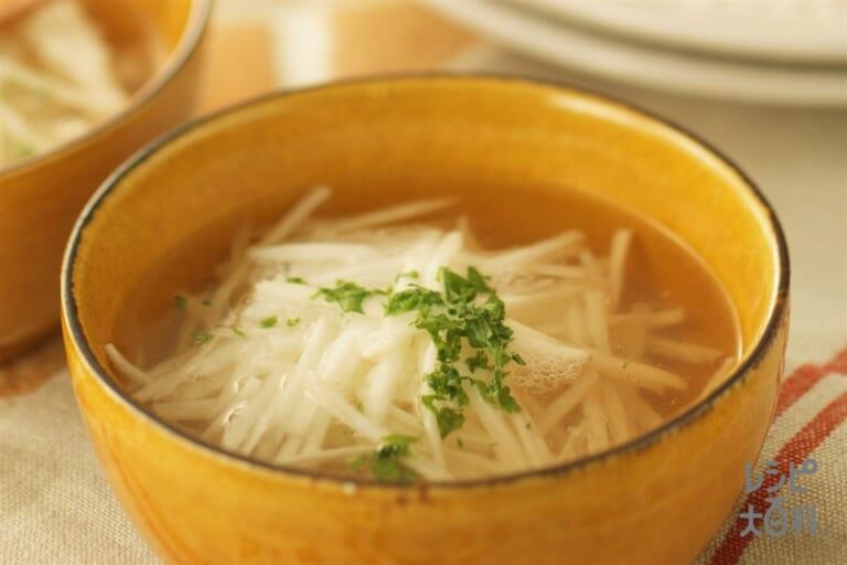 簡単長いもスープ