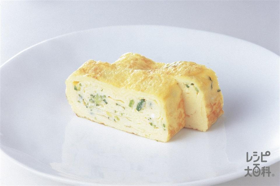 マヨ卵焼き(卵+砂糖を使ったレシピ)