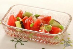 トマトとねぎのサラダ