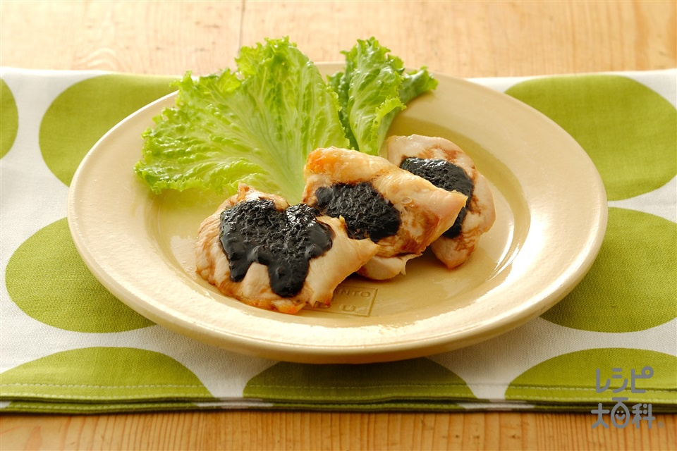 鶏肉のごまみそ焼き(鶏むね肉+Aねぎのみじん切りを使ったレシピ)