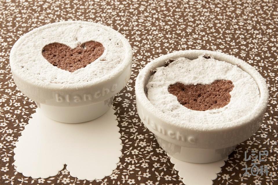プチガトーショコラ(卵黄+卵白を使ったレシピ)