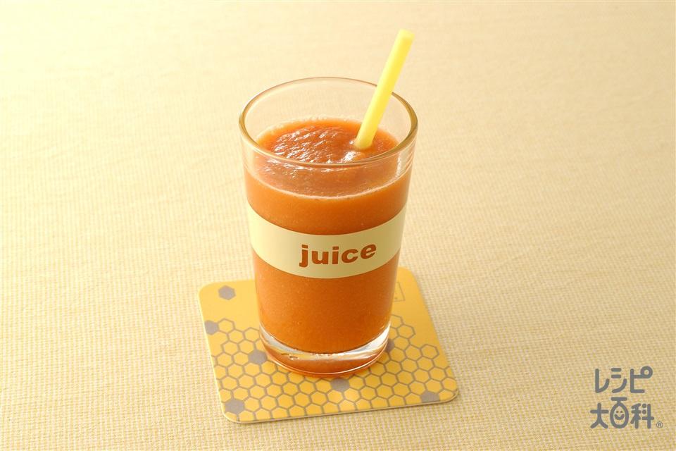 キャロットジュース(にんじん+りんごを使ったレシピ)