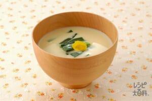 豆乳呉汁(みそ味)