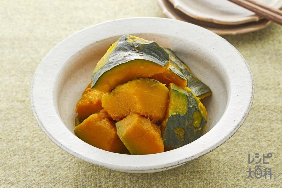 かぼちゃの煮物(かぼちゃ+砂糖を使ったレシピ)