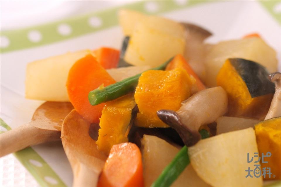 彩り野菜のキャラメル煮