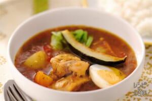 野菜たっぷりスープカレー