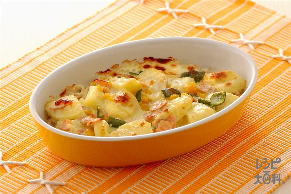 ポテトのヨーグルトマヨ焼き(じゃがいも+プレーンヨーグルトを使ったレシピ)