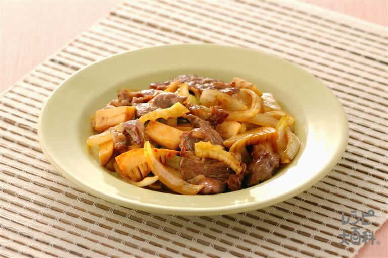 ラム肉の中国風ピリ辛炒め