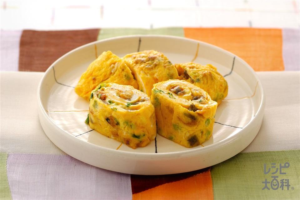 かば焼き入り卵焼き(卵+うなぎのかば焼きを使ったレシピ)