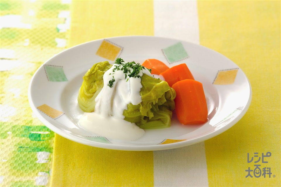 ギリシャ風ロールキャベツ(キャベツ+プレーンヨーグルトを使ったレシピ)