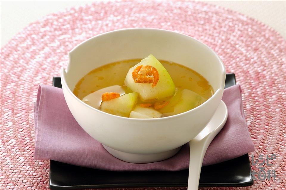 とうがんのスープ(とうがん+干しえびを使ったレシピ)