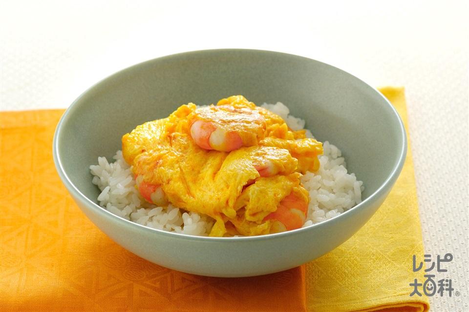 えび卵丼(むきえび(大)+卵を使ったレシピ)