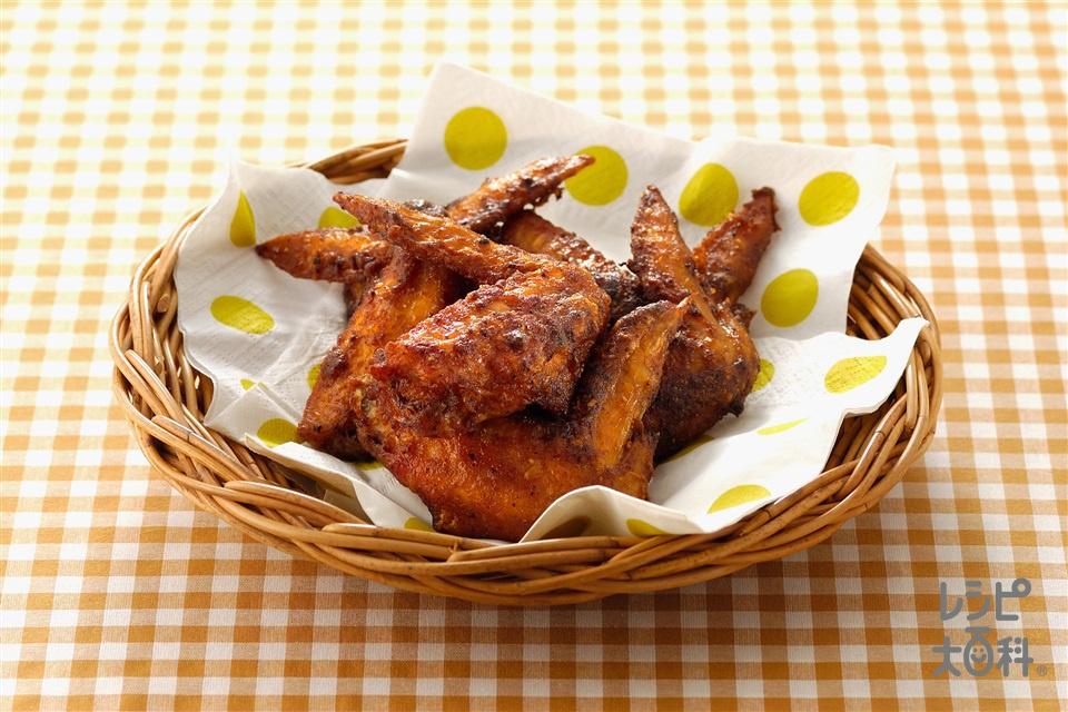 フライドチキン(鶏手羽先+小麦粉を使ったレシピ)