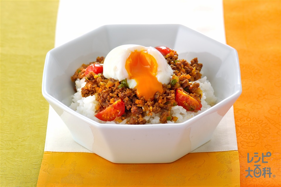 コリアンミートライス(合いびき肉+ご飯を使ったレシピ)