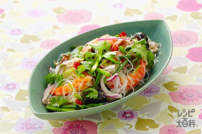 ヤム・ウン・セン(タイ風春雨サラダ)