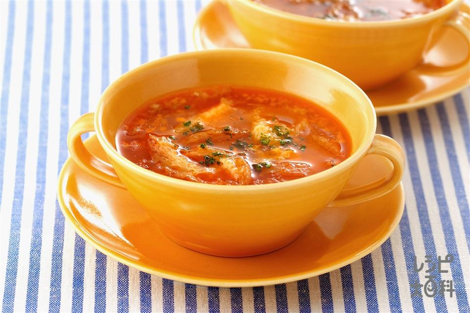 ソパ・デ・アッホ(にんにくスープ)(にんにく+フランスパンを使ったレシピ)