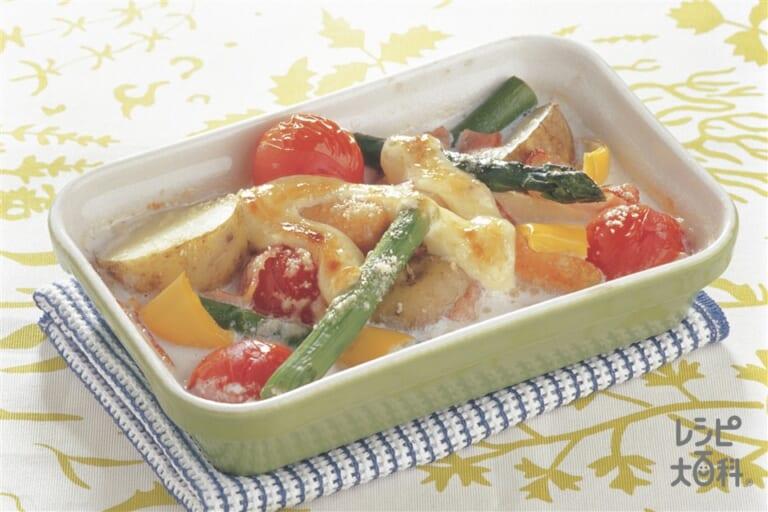 彩り野菜のマヨ焼き