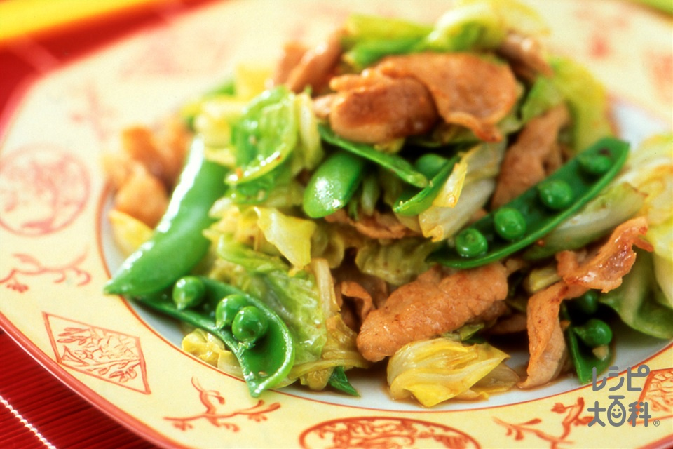 豚肉とキャベツの炒めもの(豚ロース薄切り肉+酒を使ったレシピ)