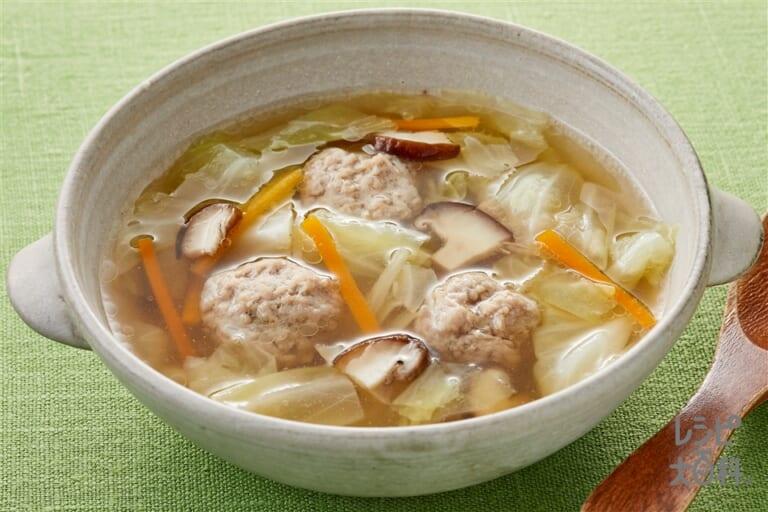 肉団子のスープ