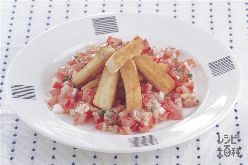 かじきのマヨサルサソース(かじき+トマトを使ったレシピ)